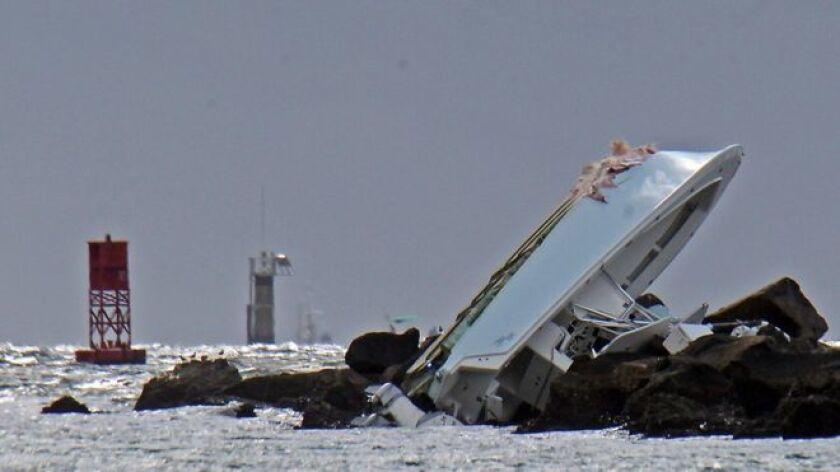 Los investigadores encontraron evidencias de que el barco iba a exceso de velocidad.