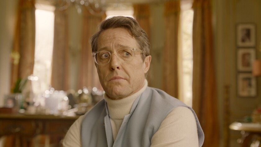 "Hugh Grant in the movie ""Paddington 2."""