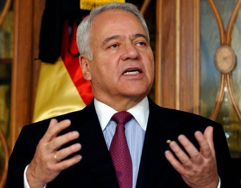 Fotografía de archivo del ex presidente de Bolivia, Gonzalo Sánchez de Lozada. EFE/Archivo