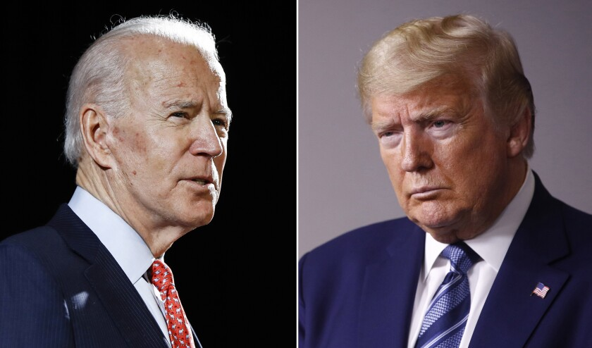 What Time Is The First Debate Between Trump And Biden Los Angeles Times