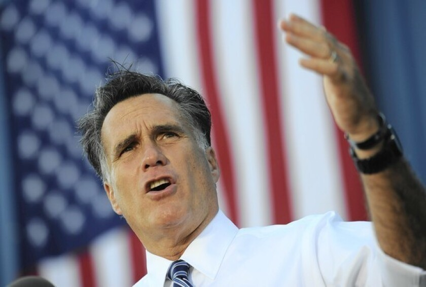 Obama and Romney urge swing-state supporters to vote early