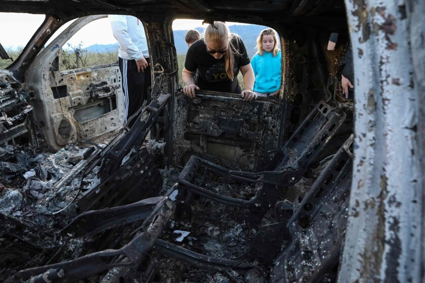 Mormon family members killed and burned during ambush