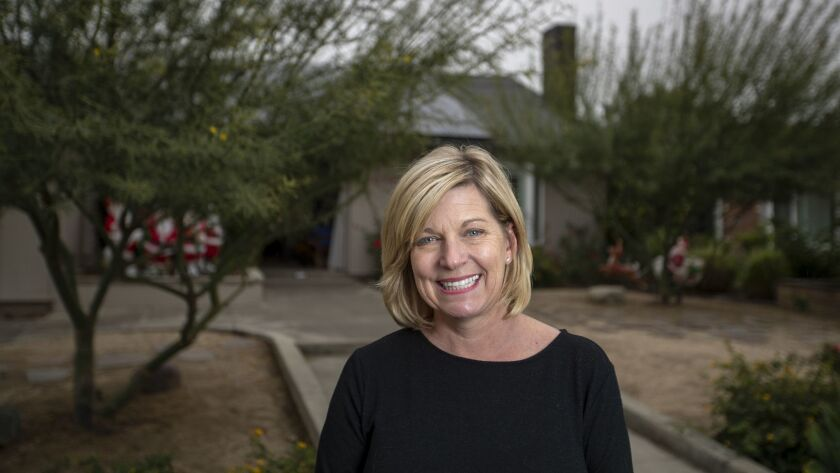 Honour Del Crognale, a Tustin elementary school librarian, is a first-time Democratic activist who threw herself into Katie Porter's campaign against Rep. Mimi Walters in California's 45th District. It's no longer so lonely to be a Democrat in Orange County.