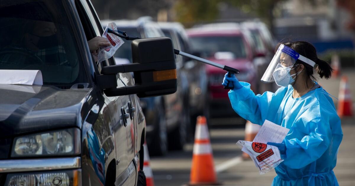 California hits 1 million coronavirus cases as L.A. County urges travel quarantine