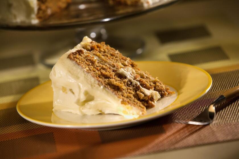 Madonna Inn's carrot cake.