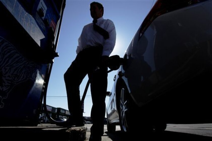 Gasoline prices surged above $3.50 in San Diego County this week.