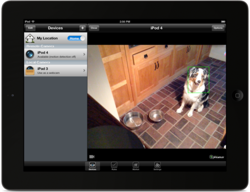 App turns iPhone and iPad into security camera, motion