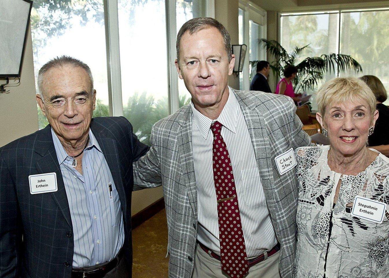 John Erthein, Chuck Stout, Stephanie Ertheim