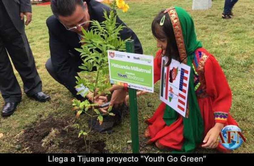 "Llega a Tijuana proyecto ""Youth Go Green"""