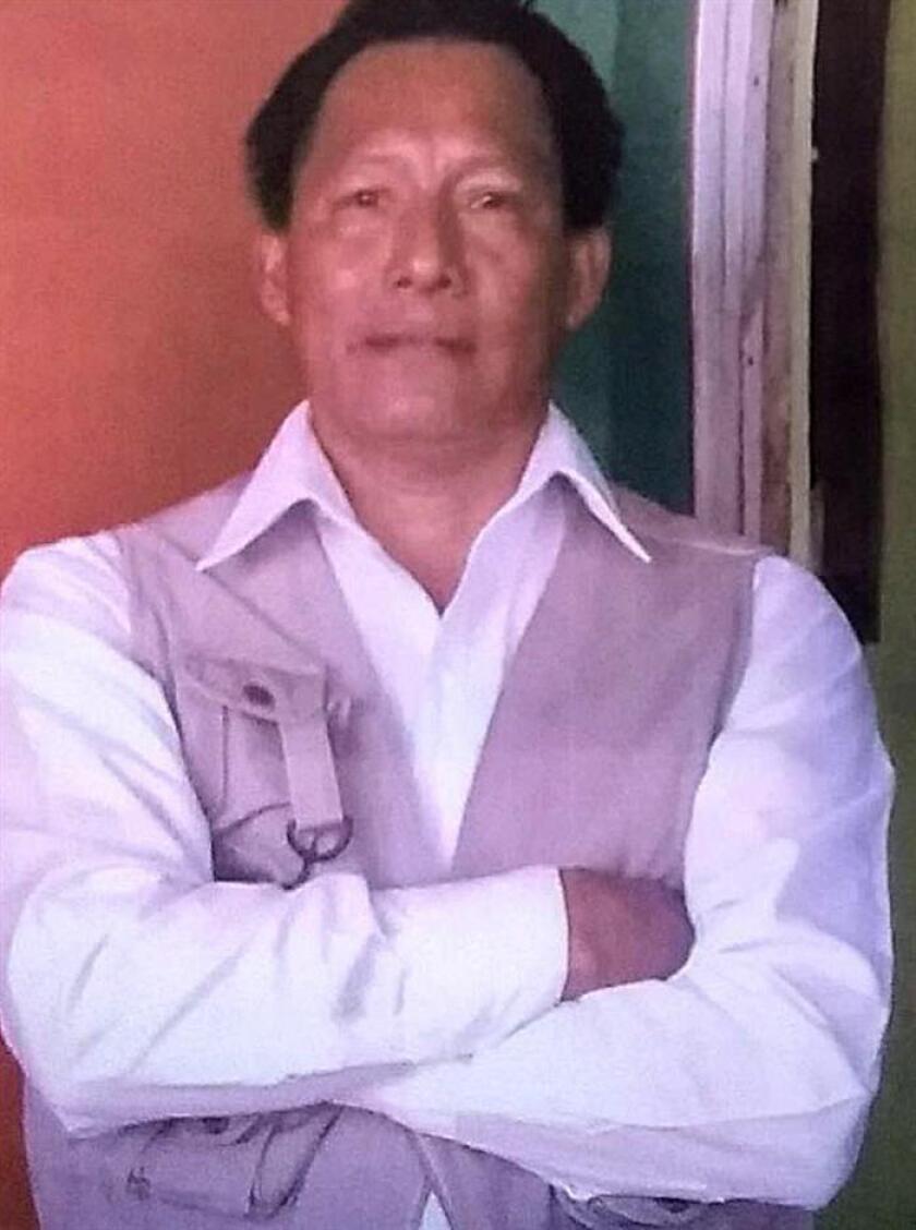 El periodista mexicano Fabián Hipólito Enemesio apareció hoy vivo y sin lesión alguna después de que fuera reportado como desaparecido por sus familiares, quienes lo vieron por última vez el pasado 30 de marzo cuando salió a cubrir la caravana migrante. EFE/STR/SOLO USO EDITORIAL