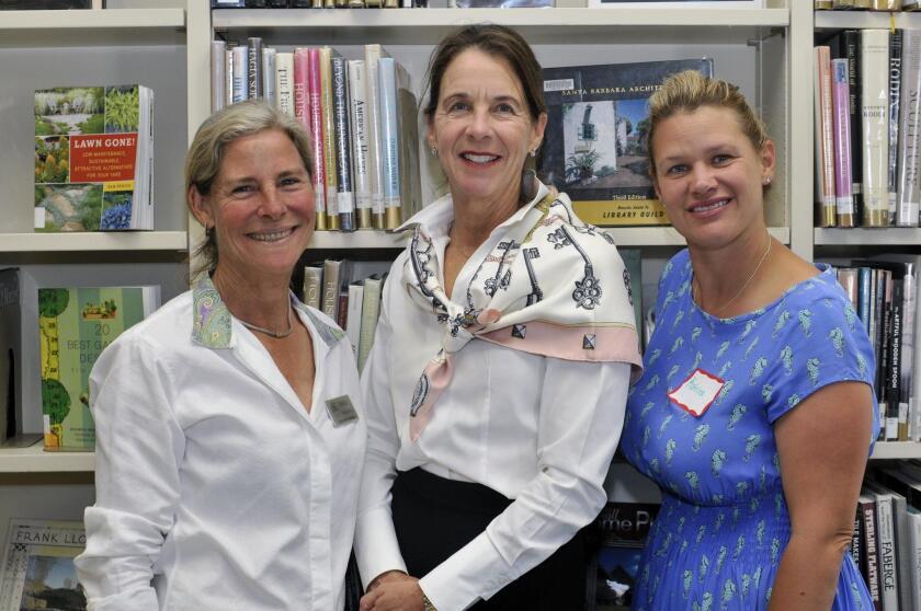 RSF Library board members Erika Desjardins, Treasurer Deana Ingalls, Katrina Stainton
