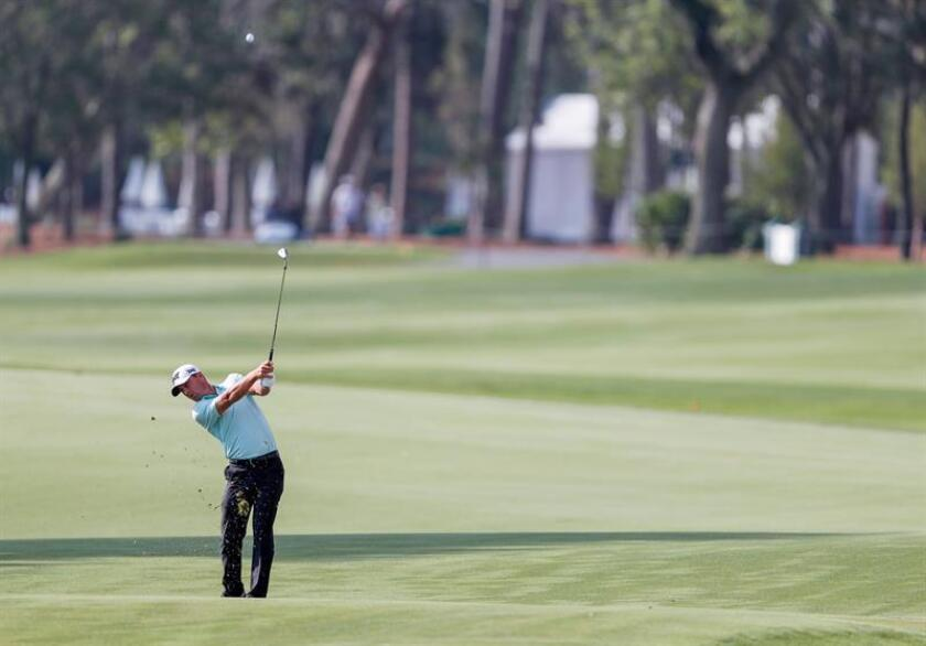 En la imagen, el golfista estadounidense Charles Howell III. EFE/Archivo