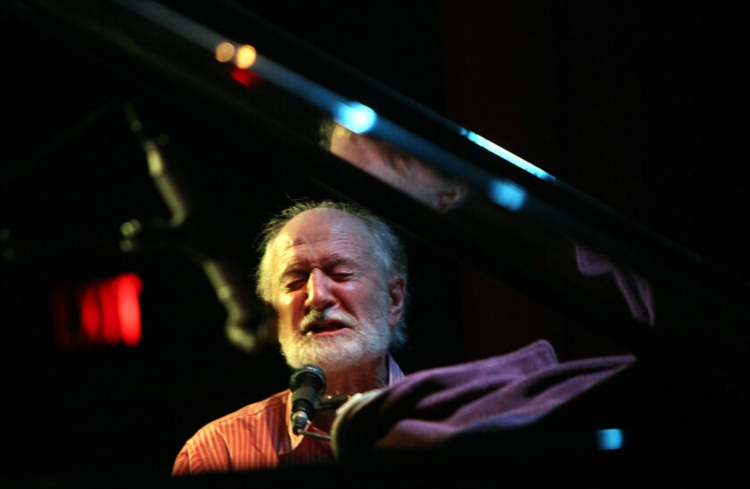 Mose Allison at the Largo at the Coronet Theatre in Los Angeles in 2010.