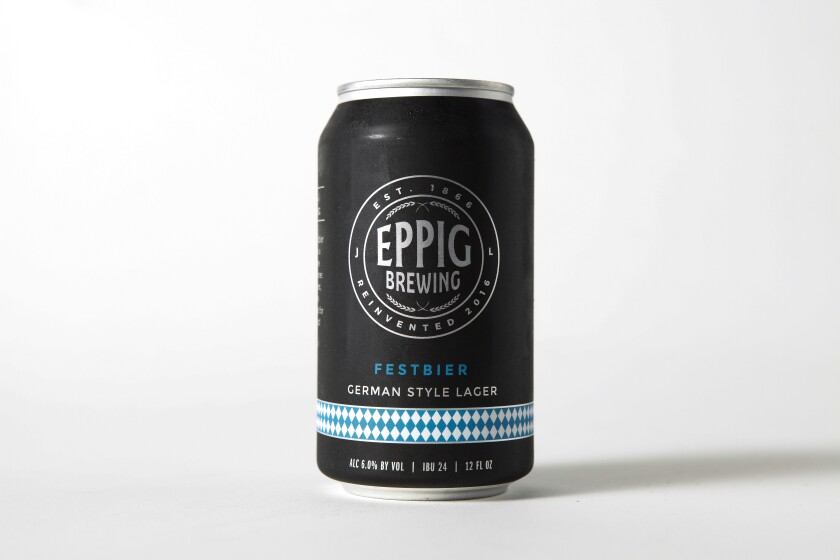 A photo of Festbier from Eppig BrewingFestbier from Eppig Brewing