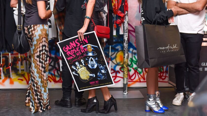 GUNS N' ROSES WAS HERE: An Exclusive Retail Event in partnership with Maxfield and Bravado