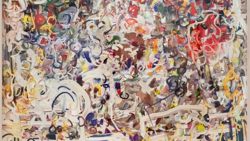 """A detail of Petra Cortright's """"man_bulbGRDNopenz@CharlesSchwaabSto9ds,"""" 2016."""