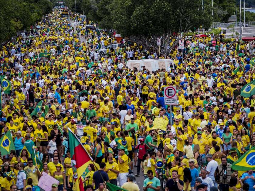 Brazil mass protests