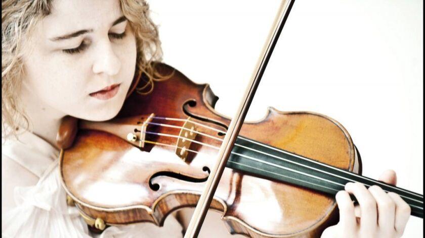Caroline Goulding performs in La Jolla this week.