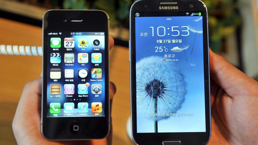 Supreme Court justices question big verdict against Samsung for copying Apple's iPhone
