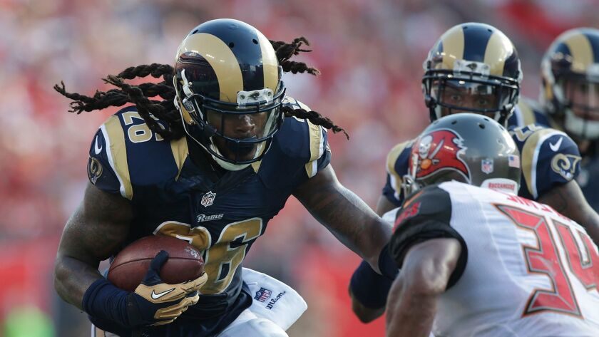 detailed pictures f2c1f bf623 Rams linebacker Mark Barron ready for opener after sitting ...