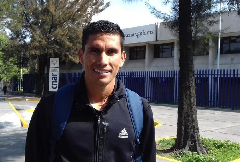 El mexicano Horacio Nava, subcampeón de la Copa Mundial de marcha del 2010, aseguró hoy que un día antes de cumplir 35 años se siente pleno y con energías para mejorar su registro en 50 kilómetros de 3h 42:51, implantado en el 2014. EFE/ARCHIVO