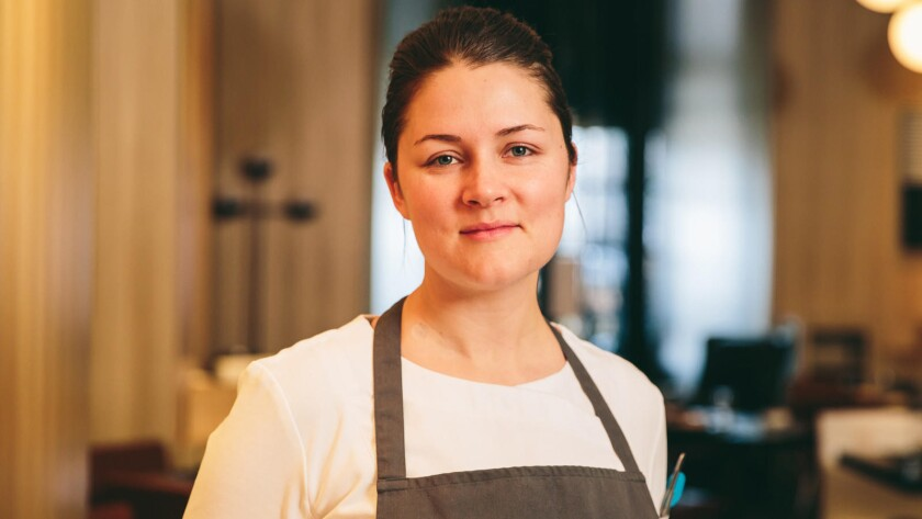 Chef Jessica Largey has left the Arts District restaurant Simone after six months as executive chef.