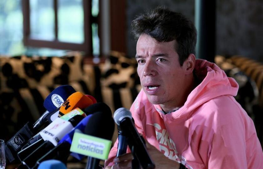 Bogota, Nov. 9, 2018: Colombian cyclist Rigoberto Uran announced Friday his participation in the 2019 Tour Colombia 2.1, joining four-time Tour de France winner Chris Froome and world champion Alejandro Valverde in signing up for the Feb. 12-17 race. EPAEFE/Mauricio Dueñas Castañeda