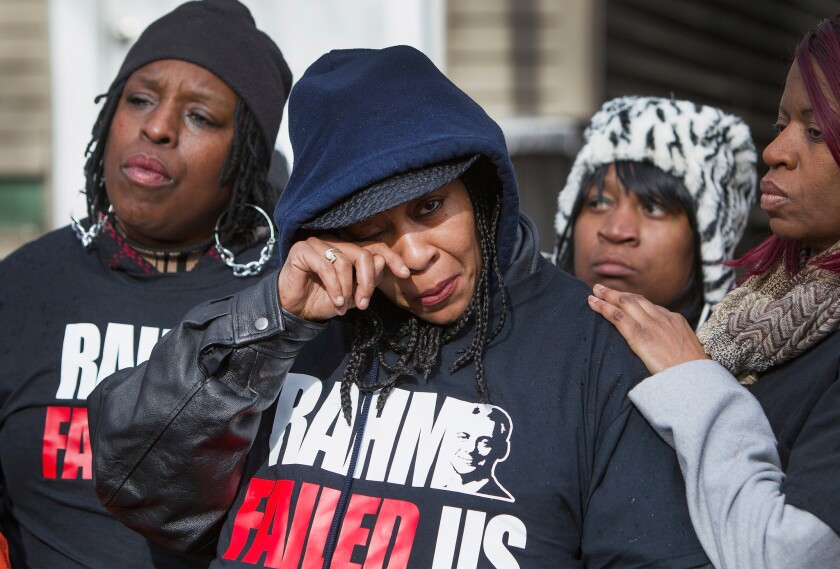 Chicago police shootings