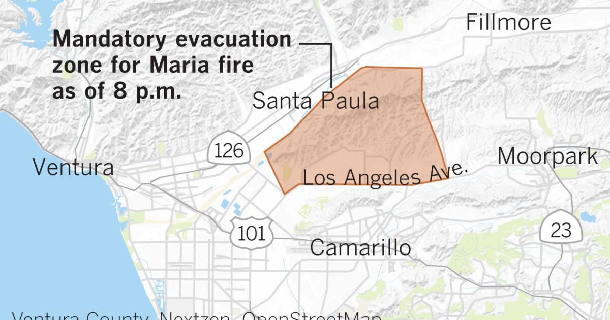 Maria Feuer: Evakuierung Bestellungen, Unterstände, Schule und Straßensperrungen