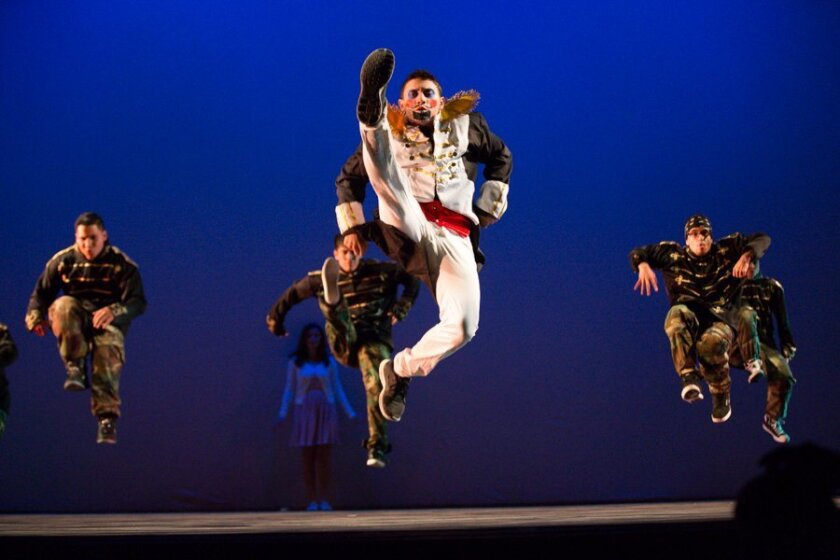 """A scene from """"A Culture Shock Nutcracker: A Holiday Hip Hop Dance Theatrical,"""" playing Jan. 3-5 at the Birch North Park Theatre. CREDIT: Marilen Avila Tran"""