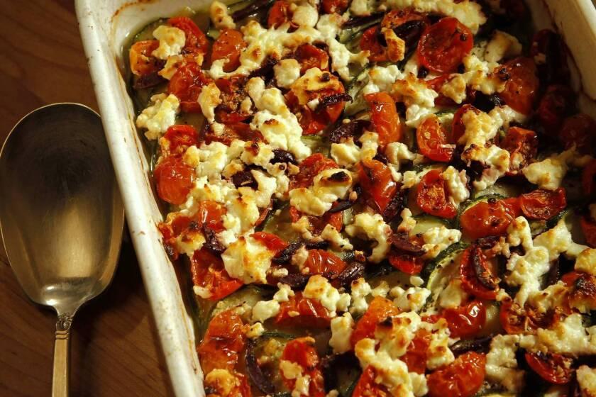 Recipe: Zucchini tian