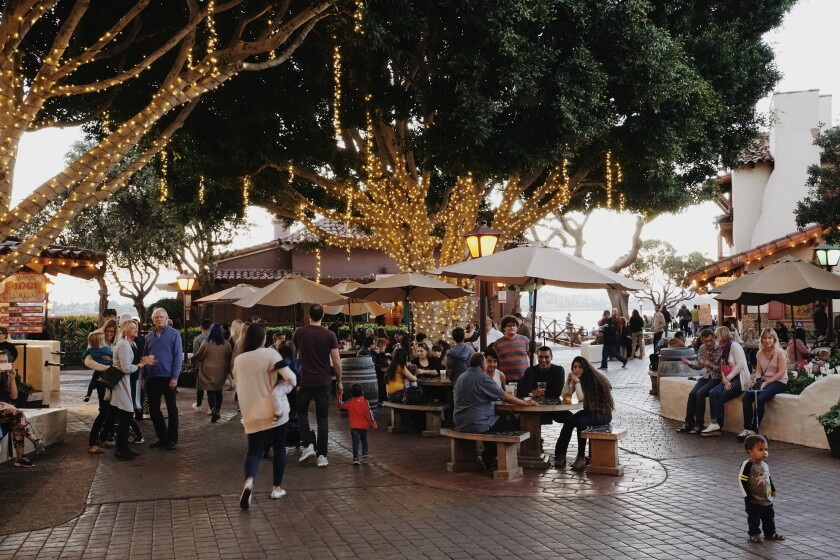 Seaport Sessions takes place every third Thursday of the month at Seaport Village.
