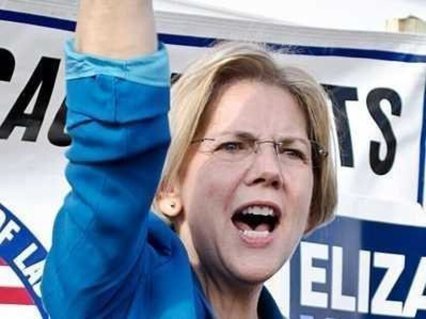 It's official: Sen.-elect Elizabeth Warren has been tapped to serve on the Senate Banking Committee.