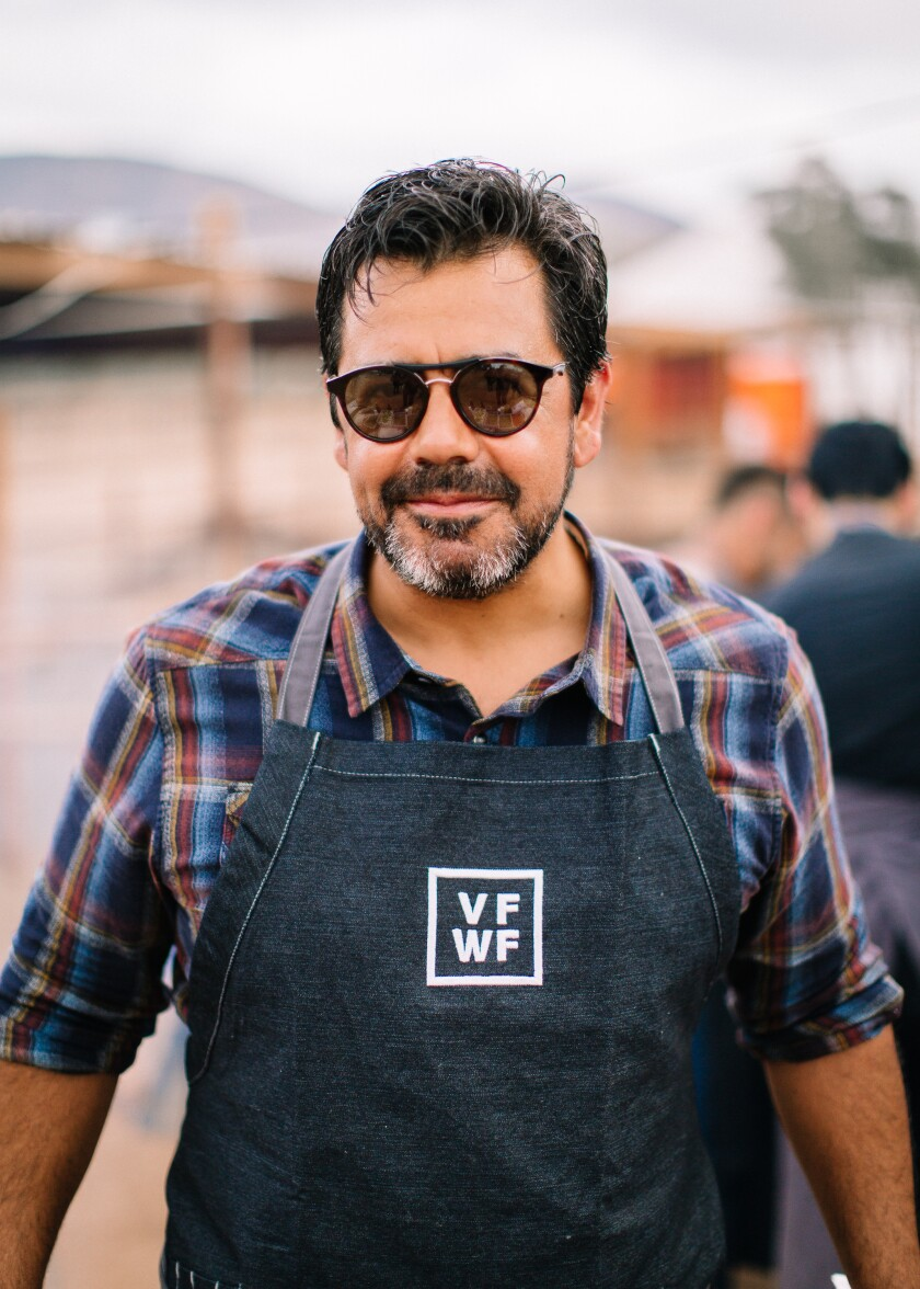 Javier Plascencia is the co-founder of the Valle Food & Wine Festival, which returns for its third year Oct. 5 to his Finca Altozano restaurant in Baja's Valle de Guadalupe.