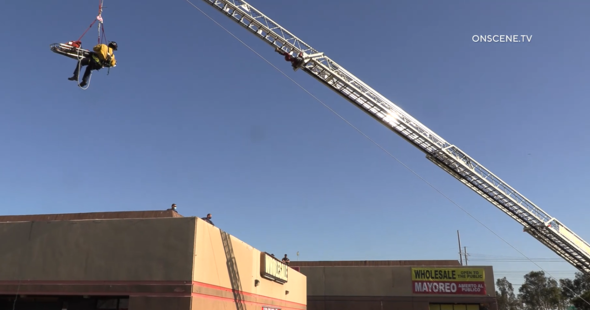 Man found tangled in copper wires, hanging upside down in empty warehouse in Chula Vista