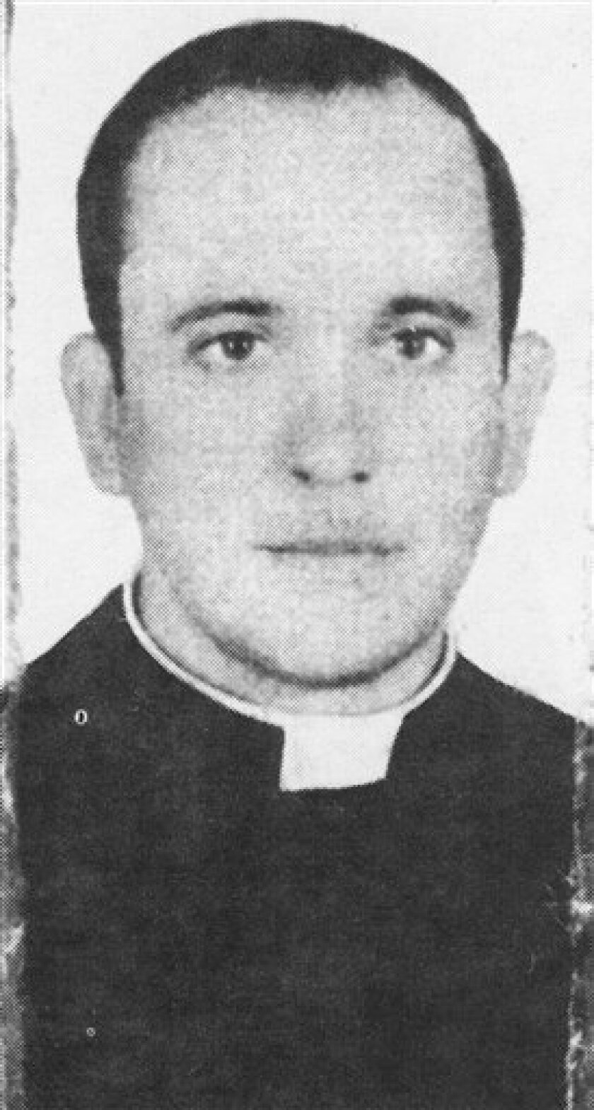 In this picture taken in 1973 and released by journalist Sergio Rubin, then priest Jorge Mario Bergoglio, actual Cardinal and Archbishop of Buenos Aires, Argentina, posse for a picture. Bergoglio, who took the name of Pope Francis, was elected on Wednesday, March 13, 2013 the 266th pontiff of the R