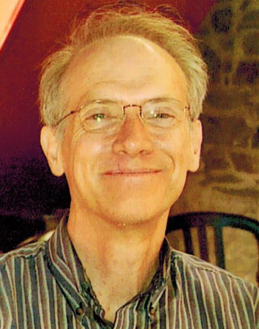 Former L.A. Times copy editor Bob Browning.