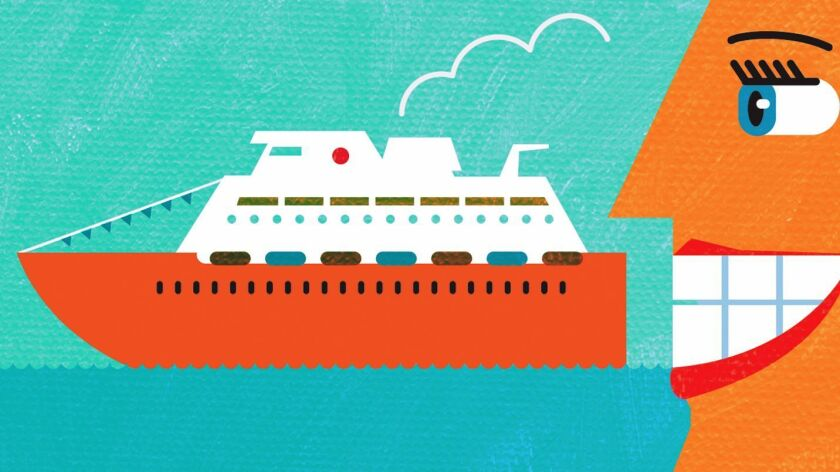 Spot Illo for 12/12 about Cruising.