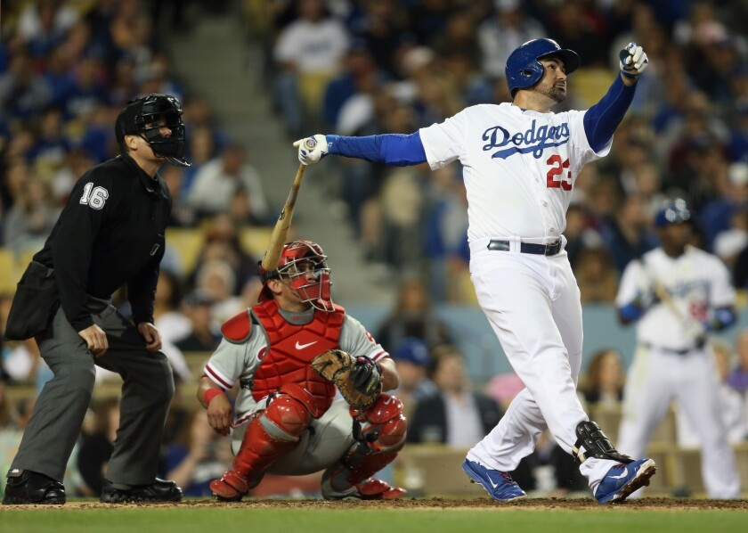 Time Warner Cable wants people to switch so they can watch Dodger star Adrian Gonzalez.