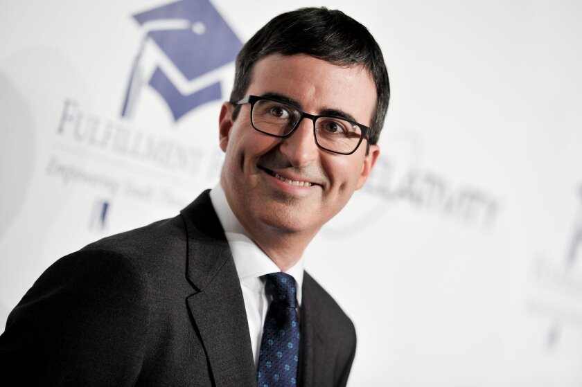 John Oliver won a Peabody Award