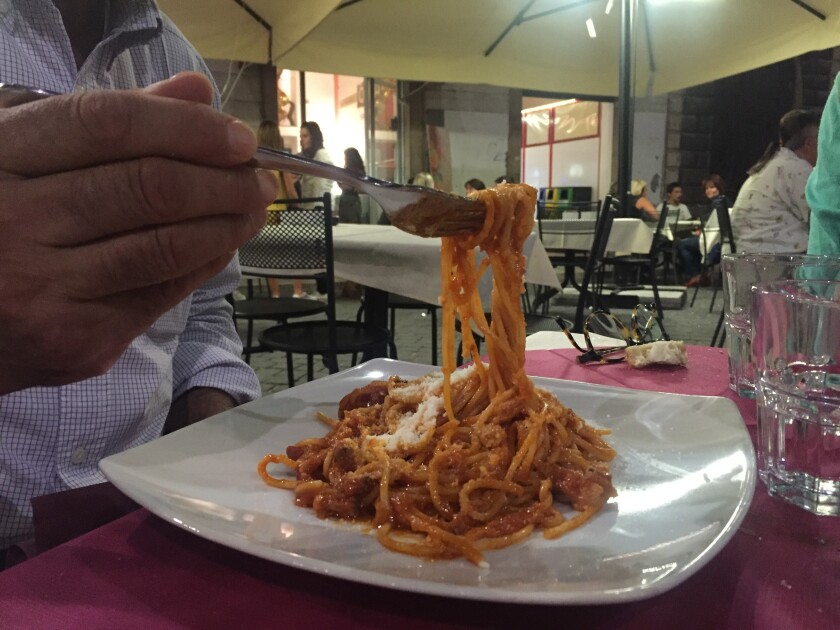 Pasta is just one of the dishes to be tasted at Wednesday's Taste of Little Italy.