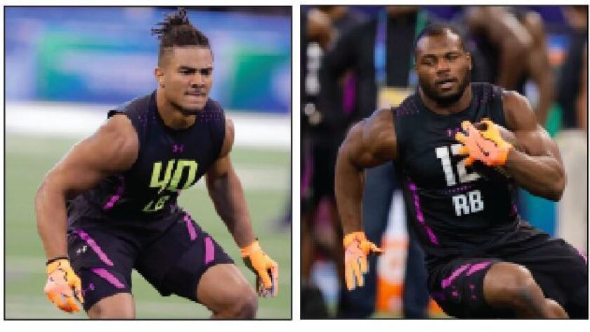 new style c80e2 a6707 Locals in the NFL Draft: Fred Warner (49ers) and Royce ...