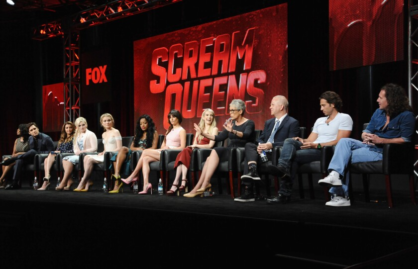 Ryan Murphy talks 'Scream Queens' 'cartoonish' ways