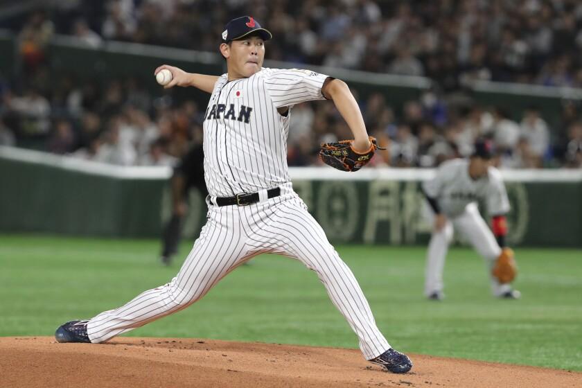 Japan South Korea Premier12 Baseball