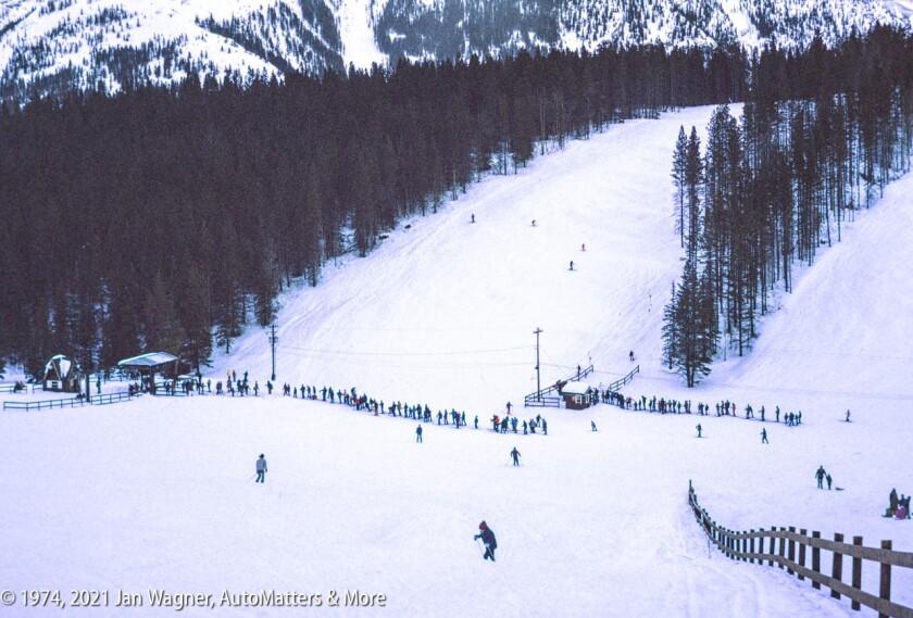 Mount Norquay ski area in Banff National Park