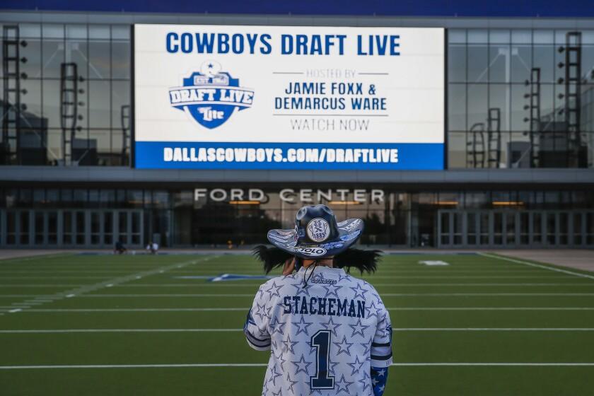 Virus Outbreak NFL Draft Cowboys Football