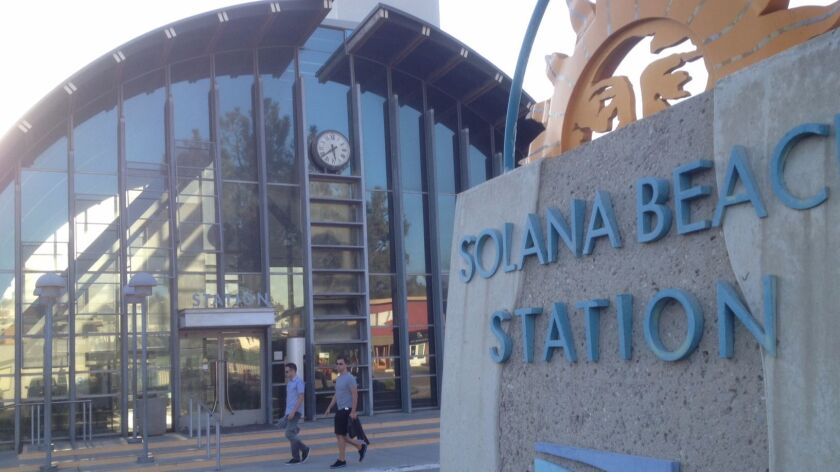 The existing train station will be transformed into a a restaurant as part of a plan to build a hotel, offices, homes and a three-story parking garage at the Solana Beach Station.