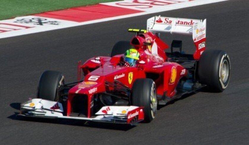 Felipe Massa at 2012 F1® USGP
