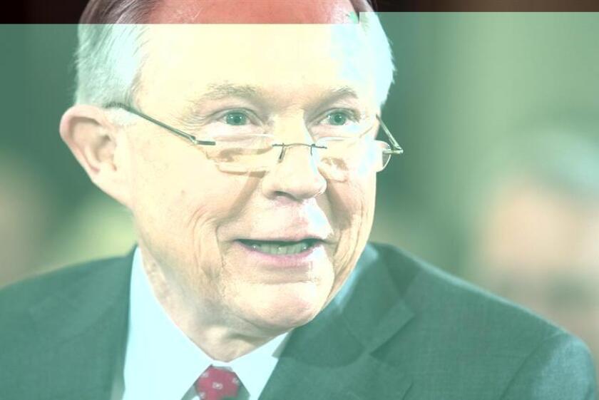 Tras analizar las respuestas que Jeff Sessions dio esta semana al comité judicial del Senado, organizaciones defensoras de los derechos de los inmigrantes manifestaron hoy su oposición a su designación como el próximo fiscal general del país. EFE/ARCHIVO