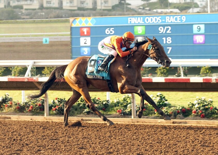 Beholder was the easy winner of Del Mar's TVG Pacific Classic back in August. Now she faces the boys again, this time in the Breeders' Cup Classic at Keeneland.